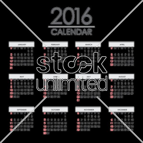 Calendar Illustration Png : Calendar vector image stockunlimited