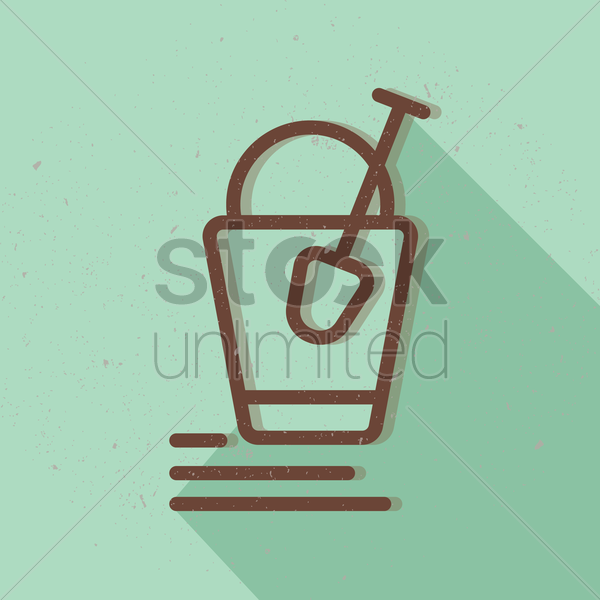a bucket and shovel vector graphic