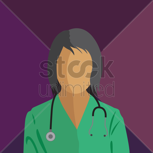 a doctor vector graphic