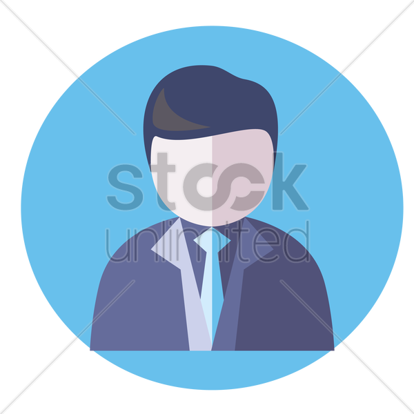 a financial consultant vector graphic