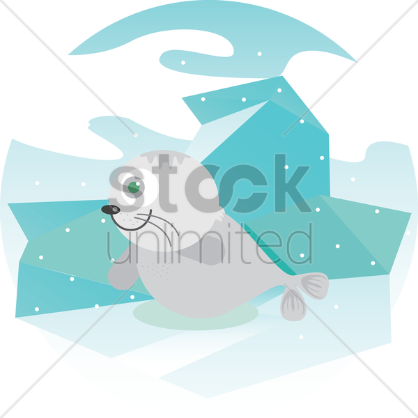 a seal vector graphic