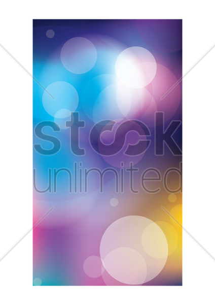 abstract bokeh wallpaper vector graphic