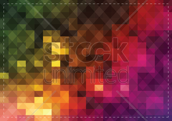 Free abstract colorful background vector graphic