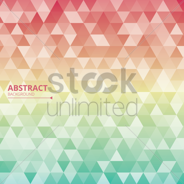 abstract faced background vector graphic