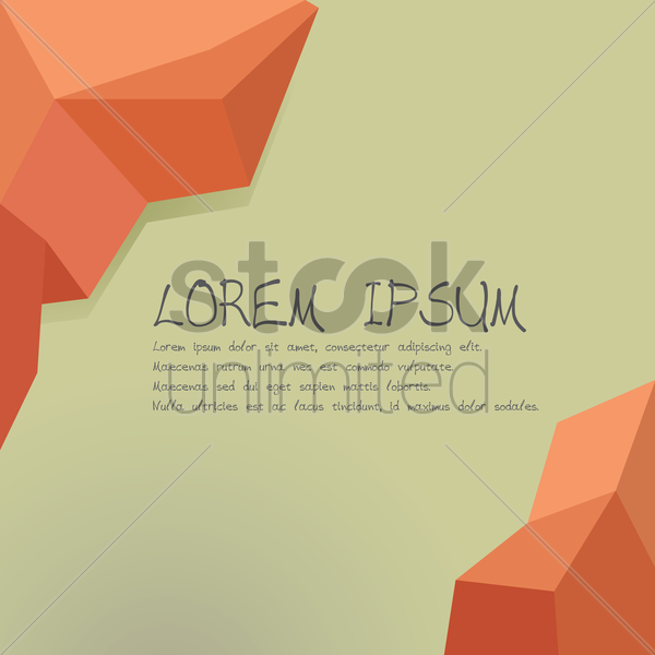 abstract low poly background vector graphic