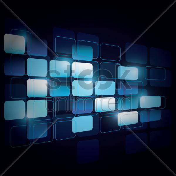 abstract pixel background vector graphic