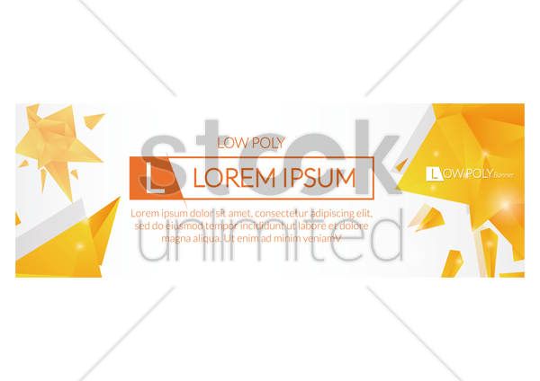 abstract web banner design vector graphic