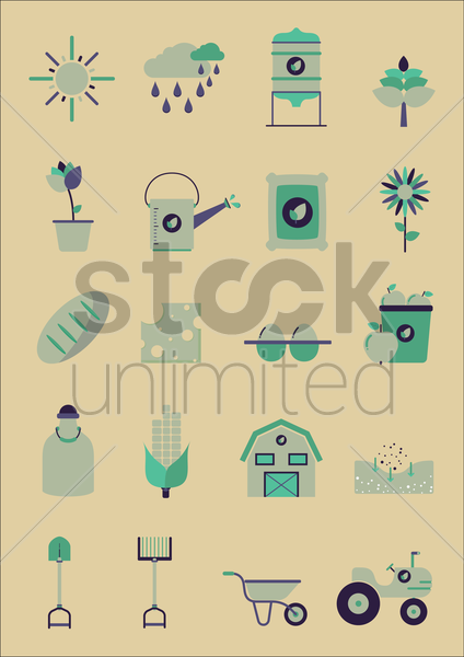 Free agriculture collections vector graphic