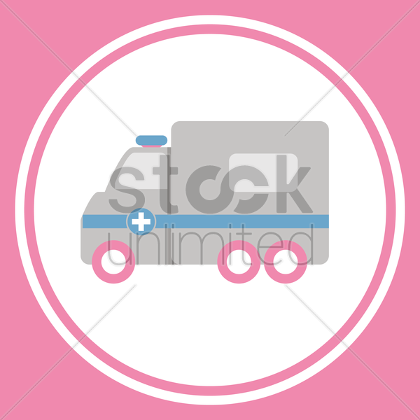 ambulance vector graphic