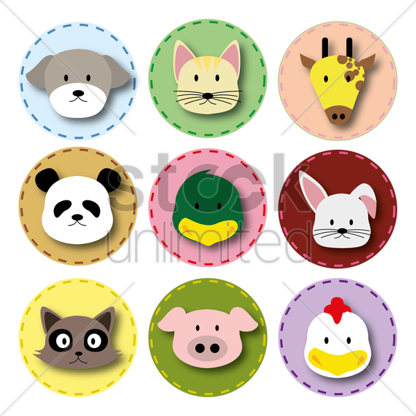 animals icon vector graphic