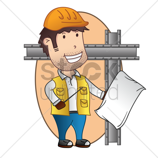 architect vector graphic