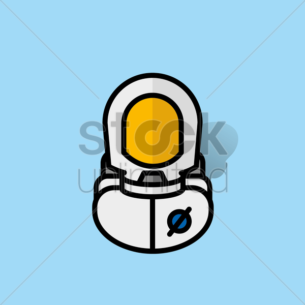astronaut vector graphic