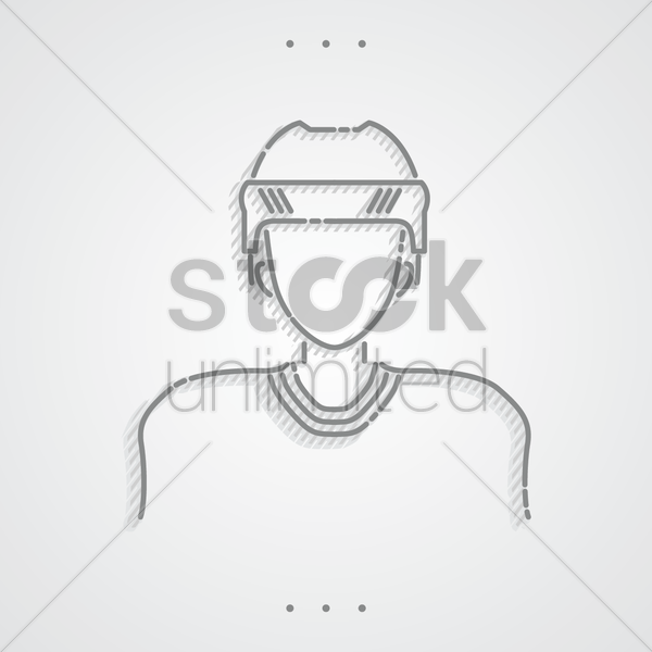 athlete vector graphic