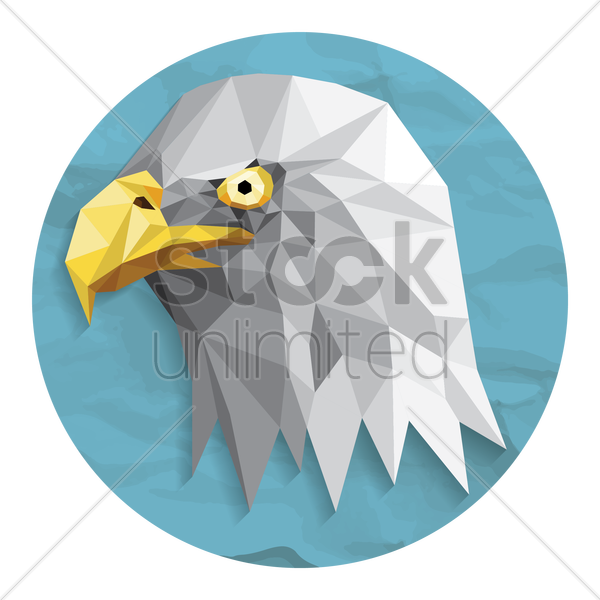bald eagle vector graphic