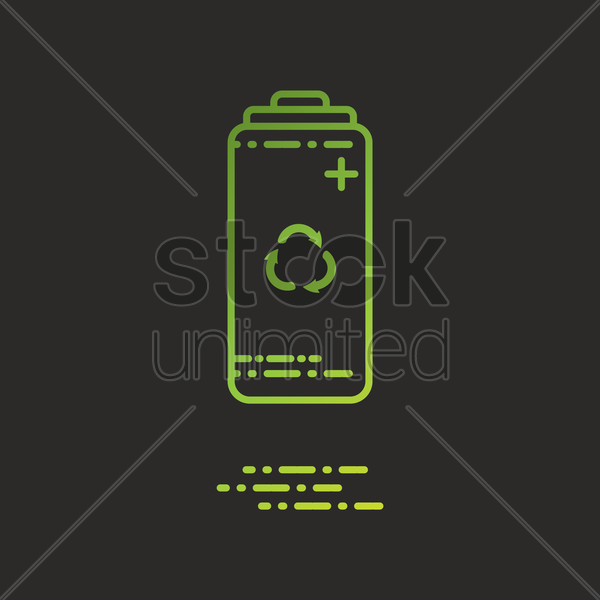 battery vector graphic