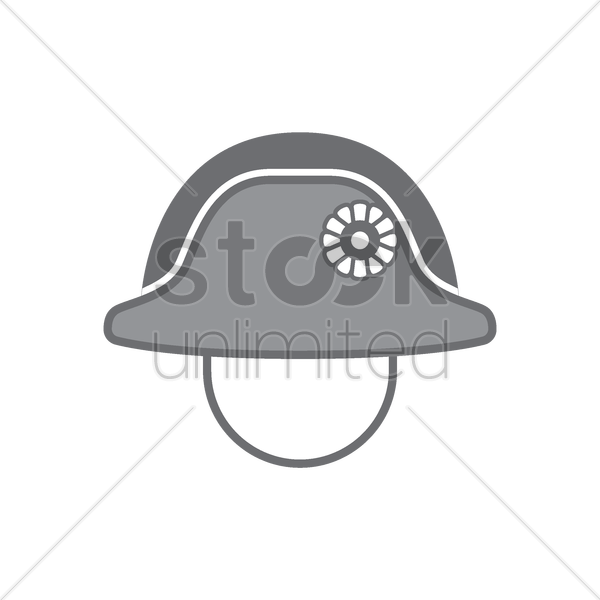 bicorne vector graphic