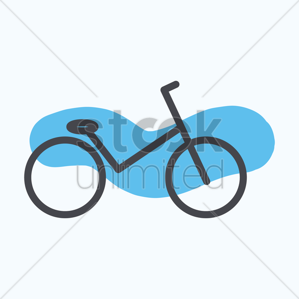bicycle vector graphic