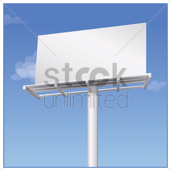 billboard vector graphic