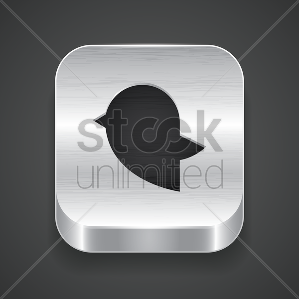 bird icon vector graphic
