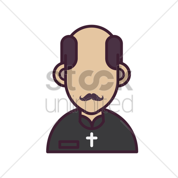 bishop vector graphic