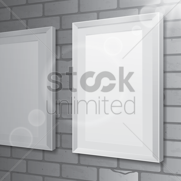 blank bill boards vector graphic