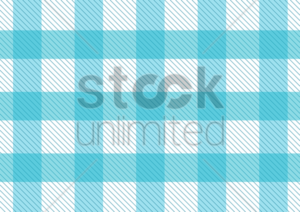 blue pattern picnic tablecloth vector graphic