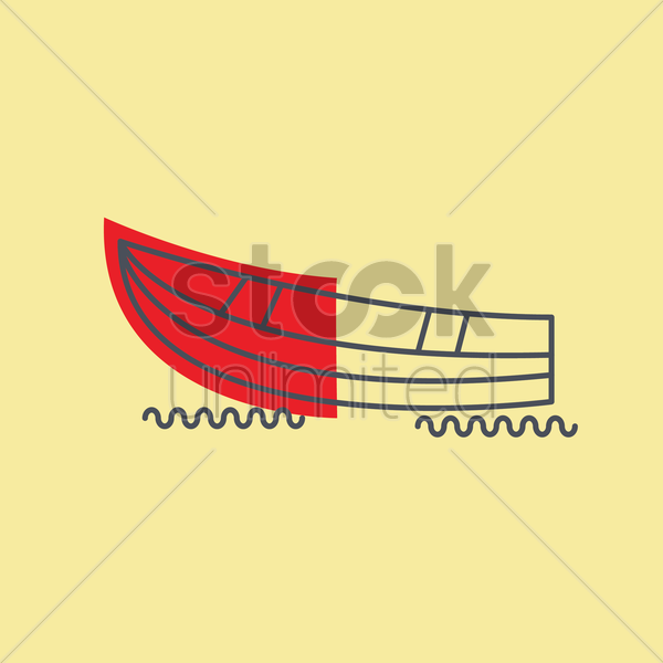 boat vector graphic