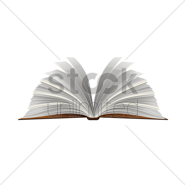 book vector graphic