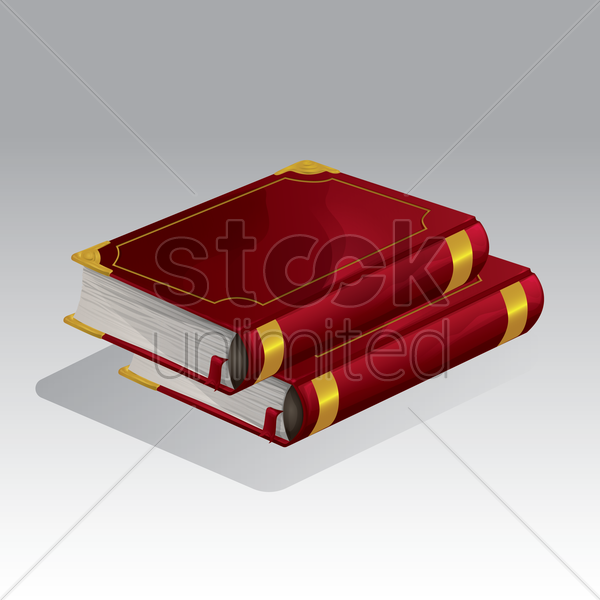 books vector graphic