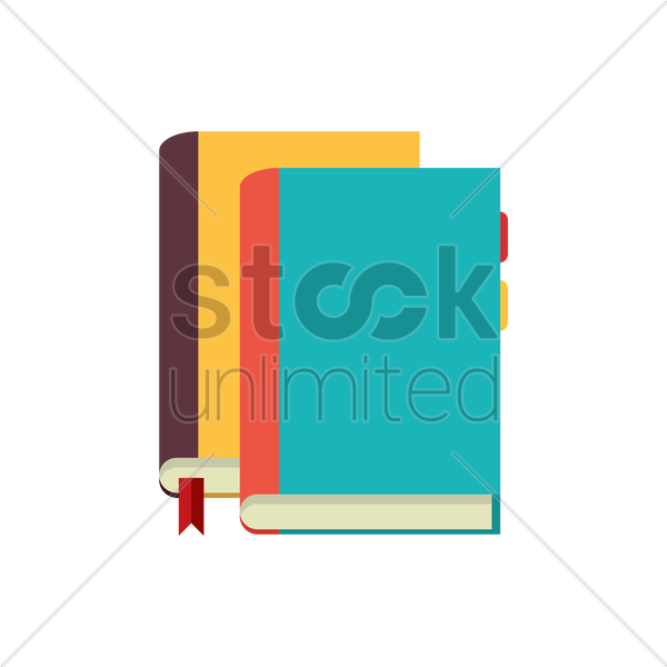 Free books vector graphic