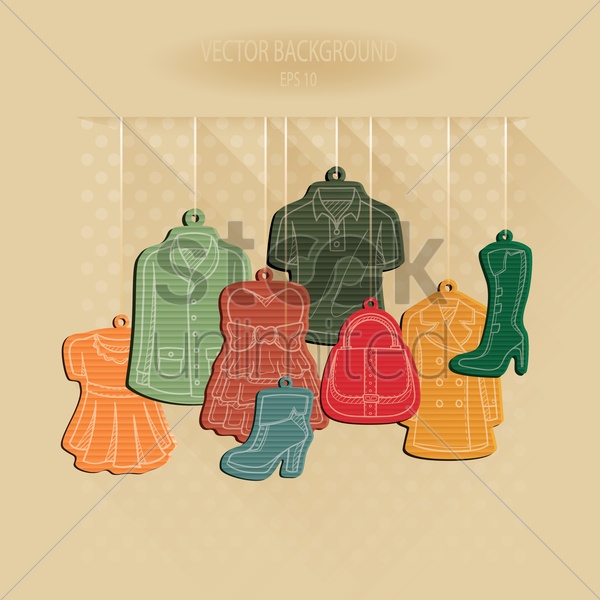 boutique collection vector graphic