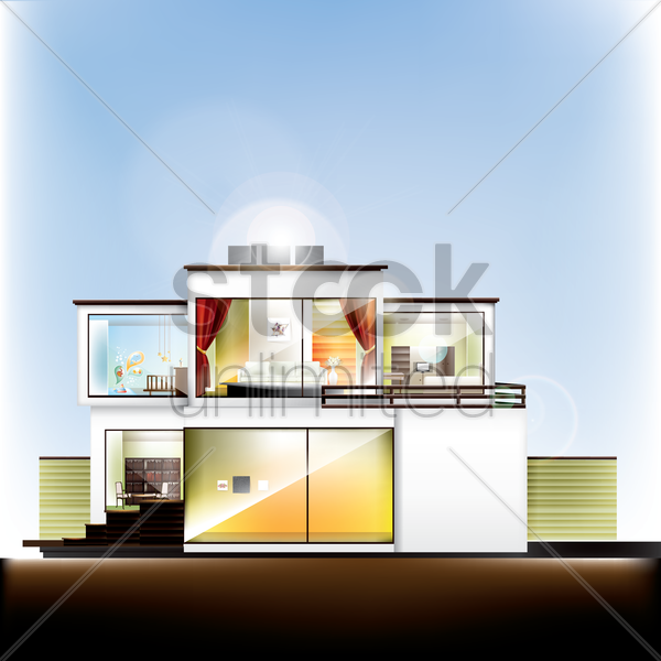 building vector graphic