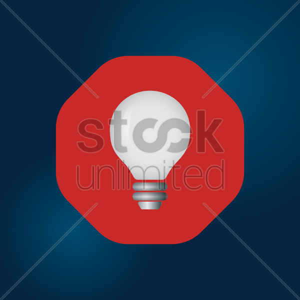 Free bulb vector graphic