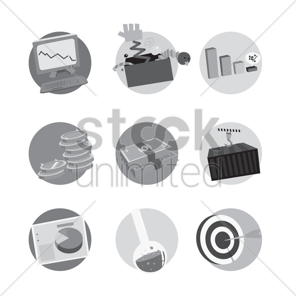 business and industry vector graphic
