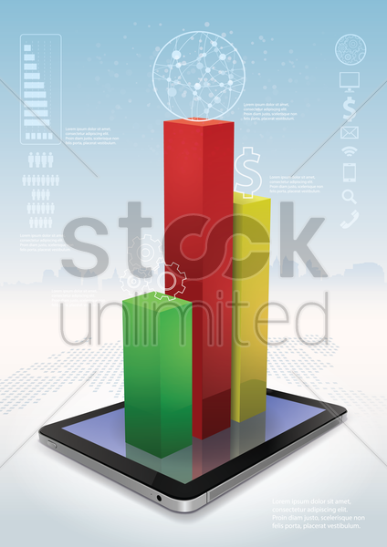 business concept infographic vector graphic