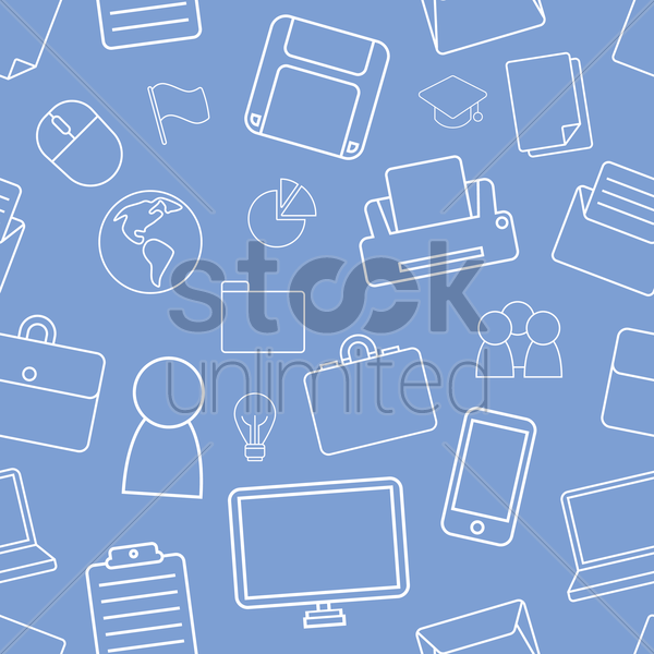 business item background vector graphic