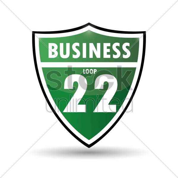 business loop 22 vector graphic