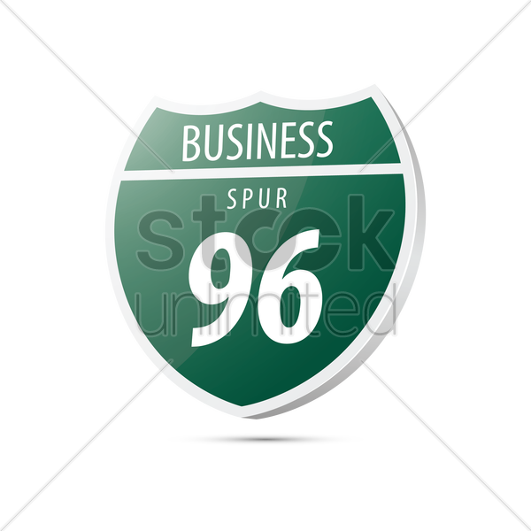 business spur 96 vector graphic