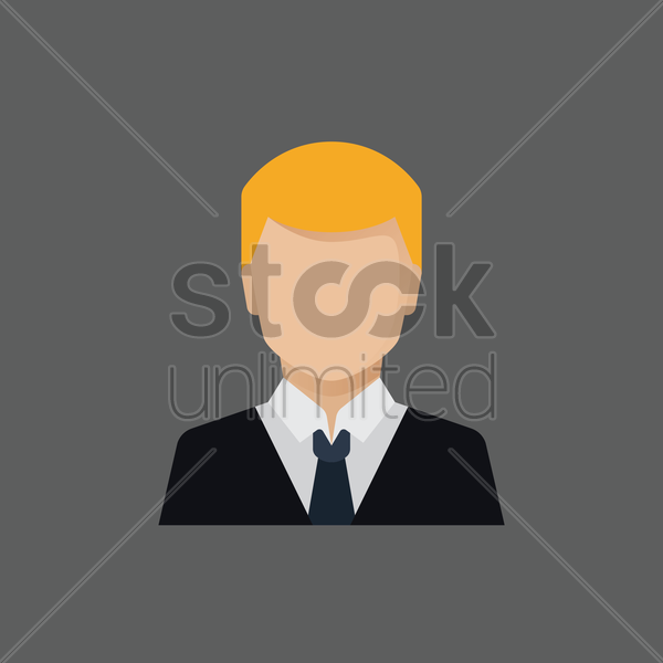 Free businessman vector graphic