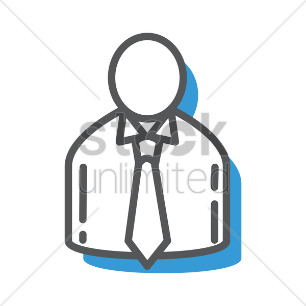 businessman vector graphic