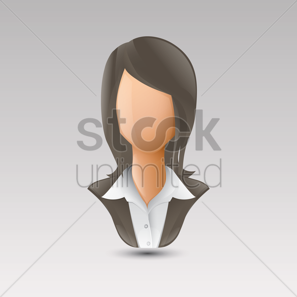 Free businesswoman vector graphic