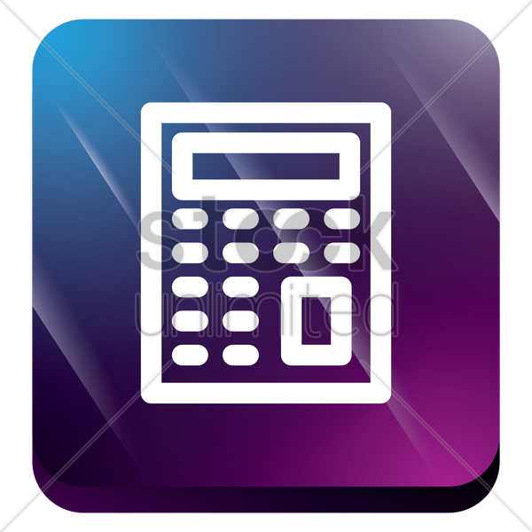 calculator vector graphic