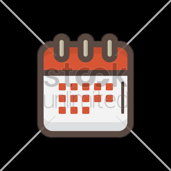 Calendar Illustration Png : Calendar icon vector image stockunlimited