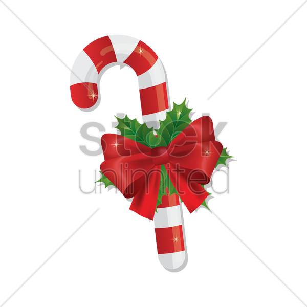 candy stick vector graphic