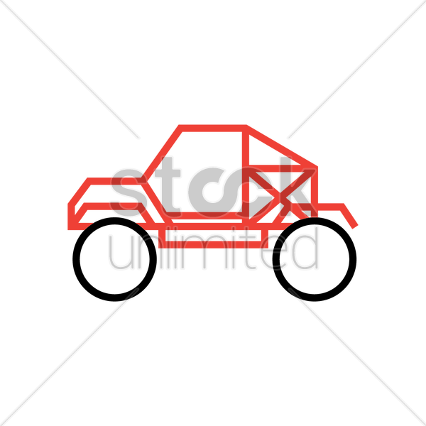 car frame vector graphic
