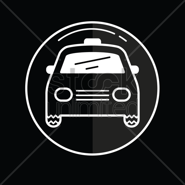 car icon vector graphic
