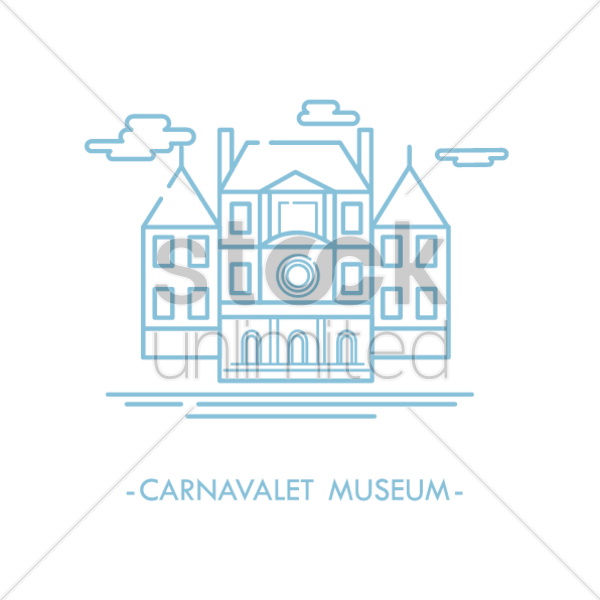 carnavalet museum vector graphic