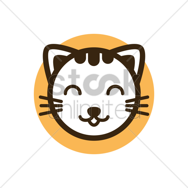 cat vector graphic
