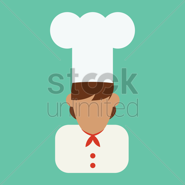 chef vector graphic