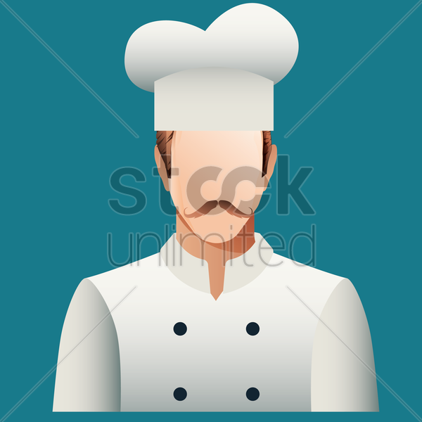 Free chef vector graphic